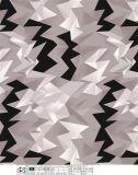 의복 복장을%s 기하학적인 패턴 폴리에스테 직물을 인쇄하는 것은 단화를 자루에 넣는다