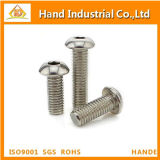 Aço inoxidável 316 ISO7380 Hex Socket Button Head Screw