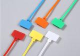 Individu professionnel de serre-câble de courroies de nylon d'approvisionnement verrouillant des relations étroites d'étiquette
