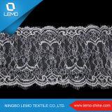Fantastisches elastisches Softextile Netzkabel-Spitze-Gewebe, Typ des Spitze-Materials