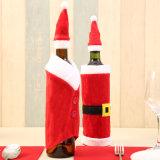 Cadeau de porte-bouteilles de vin de bonhomme de neige de Santa, décoration d'Asst-Noël 2