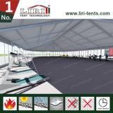 Огнезамедлительный временно шатер стадиона, шатер стадиона структуры PVC для сбывания