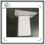 Standardgutschrift-Größen-unbelegte Plastikkarte mit Aufkleber