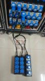 Удлинительный кабель 4 дорог с гнездом универсалии 10A