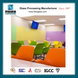 Quadro interativo de vidro de cor personalizada magnético
