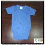 Голубой младенец цвета одевает Bodysuit младенца типа кимона