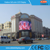 P6 publicidade exterior Cor de parede LED para Shopping Mall