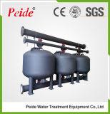 水濁り度を減らし、水を浄化するための浅いメディアフィルタ