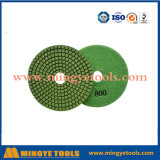 80mm-200mm Diamond Polishing Pad pour sol en pierre / granit / marbre