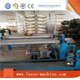 Línea de producción de malla de alambre de fibra de vidrio de construcción
