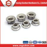 Hot Sale DIN 6923 l'écrou à embase hexagonale de