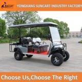 卸し売り電池式の6 Seaterのゴルフカート