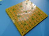 Carte multicouche 4layer d'épaisseur de la qualité 0.5mm avec Solermask jaune