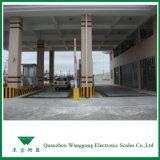 het 3*16m Geautomatiseerde Systeem van de Weegbrug van de Vrachtwagen