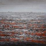 Peinture à l'huile abstraite pour la reproduction Décoration