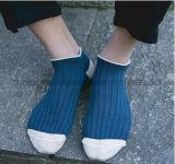 Marine-Blau-gestrickte Freizeit-Form-Knöchel-Socken