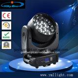 ズームレンズLEDの移動ヘッドライトが付いている19PCS 12W Osram LEDのビーム移動ヘッド