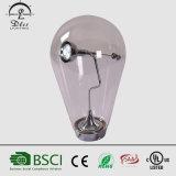 현대 창조적인 유리제 전구 모양 간단한 책상용 램프