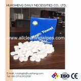 полотенца таблетки пакета коробки 500PCS ткань монетки волшебного Compressed миниая
