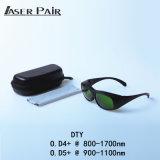 Glas-Laser-Schutzbrille DTY Laser-Safet schützen Wellenlänge: 800 - 1700nm, 980nm, 1064nm, 1320nm, 1470nm für Dioden, Nd: YAG