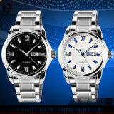 YXL-557 Relojes 2016 pares del acero inoxidable amantes de la manera cuarzo relojes del reloj del regalo