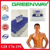 Großhandels2mg Wachstum-Steroid Hormon Rhgh Handhabung- am Boden176-191 mit niedrigem Preis