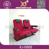 기대는 기계장치를 가진 새로운 디자인 직물 덮개 영화관 극장 의자