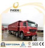 우수한 질 및 최고 가격을%s 가진 사용된 HOWO 덤프 트럭 팁 주는 사람 371 HP 8X4