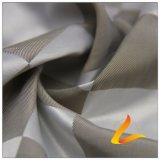 tissu en nylon du jacquard 83.5% Polyester+ 16.5% de plaid de 50d 340t (H061)