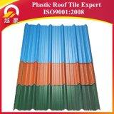 Cor colorida e longa que dura a telha de telhado de UPVC