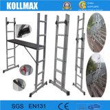 En131 Ladder van het Systeem van het Frame van de Steiger van het Aluminium de Multifunctionele
