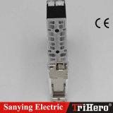 контактор входного сигнала DC держателя рельса 40A DIN полупроводниковый