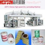 QDF -una serie de alta velocidad etiqueta adhesiva máquina de laminación en seco