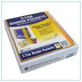 bolsos da pasta 5-Tab com Escrever-em abas do deslocamento predeterminado