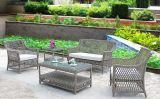 5 Piecs Rattan-Sofa Pation Möbel PET Rattan-Möbel