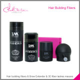 Fibras marcadas do engrossamento do cabelo da proteína das fibras do edifício do cabelo da queratina fibra natural da queratina do cabelo