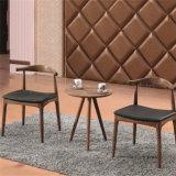 (SP-CT732) Klassische skandinavische Walnuss-Farben-hölzerner Kaffee-Tisch und Stuhl