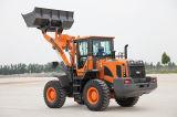 Material de construcción cargador de la rueda de las partes frontales de 3 toneladas mini pequeño