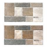 Azulejo al aire libre de cerámica esmaltado de la pared del material de construcción con la ISO