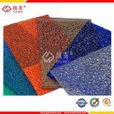 Force à haute résistance de feuille de polycarbonate de serre chaude