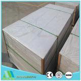 Panneau de tissu-renforcé résistant au feu de silicate de calcium pour le plafond/revêtement interne