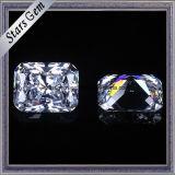قطع جزء متوهّج [بست-سلّينغ] [8.5إكس6.5مّ] أبيض [كز] حجر كريم سائب