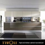 食器棚Tivo-0018khにラッカーを塗る黒い食器棚および白
