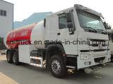 Sino 6X4 24m3 HOWO remplissant le réservoir de camion de distribution de gaz du camion 10ton