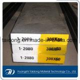 Aço de ferramenta frio do trabalho do bom Hardenability de DIN1.2080/D3/Cr12