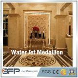 高品質の大理石の円形のモザイク・タイルの床の円形浮彫りの床パターン