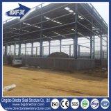Здание пакгауза стальной структуры полуфабрикат с ценой низкой стоимости