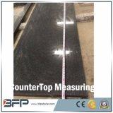 Dalle de granit noir naturel compétitif pour comptoir et carrelage