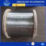 電流を通された鋼線の結合ワイヤー