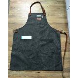 Рисбермы работы холстины высокого качества прочные серые с неподдельной кожаный планкой для людей